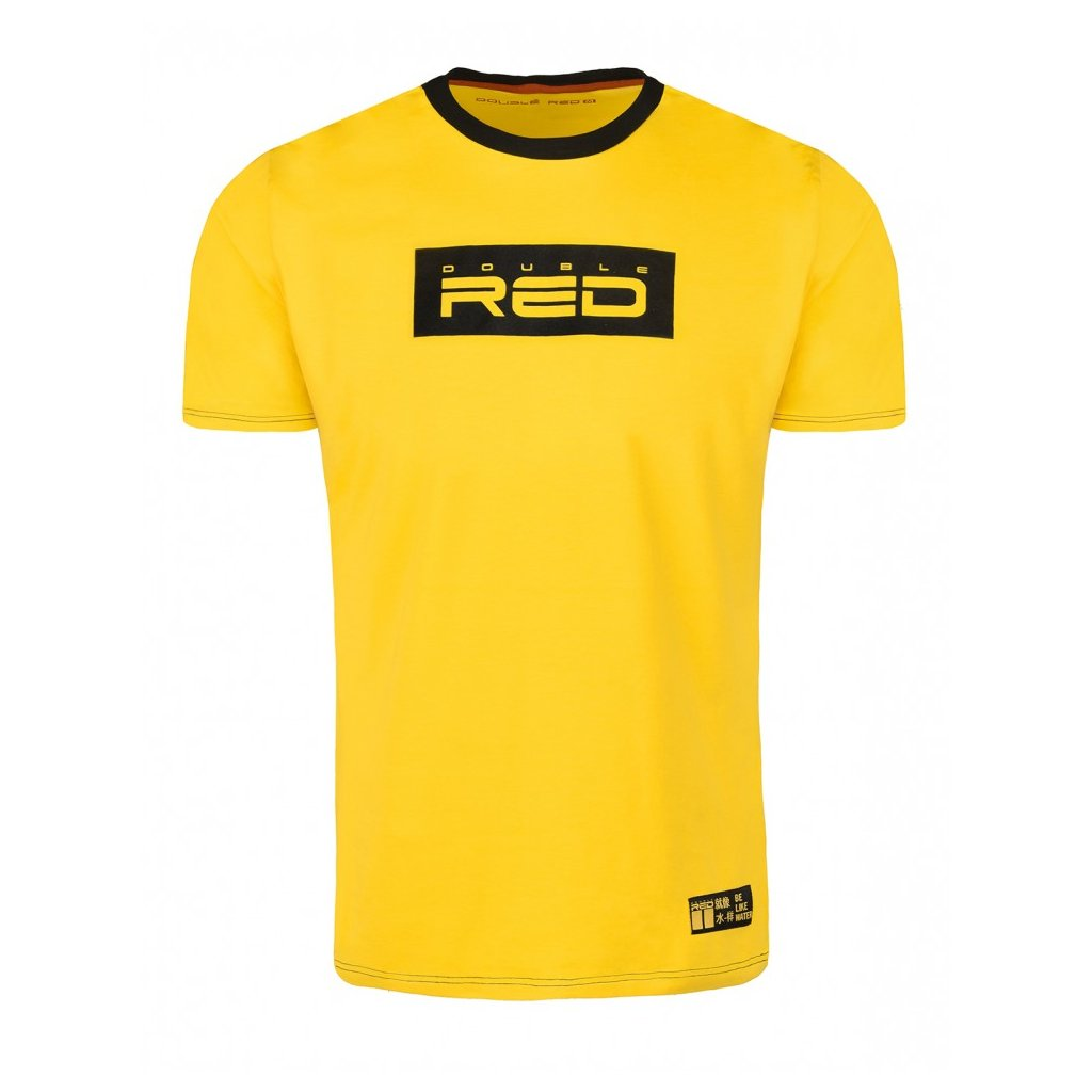 Tričko  DOUBLE RED  T-shirt LOGO VISION KUNG-FU MASTER™ Yellow