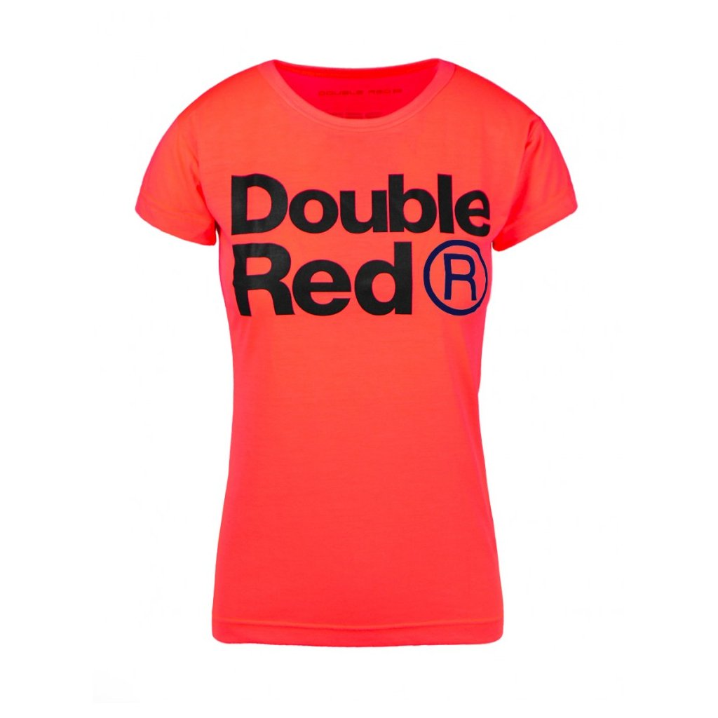 Tričko  DOUBLE RED Trademark NEON T-shirt Pink