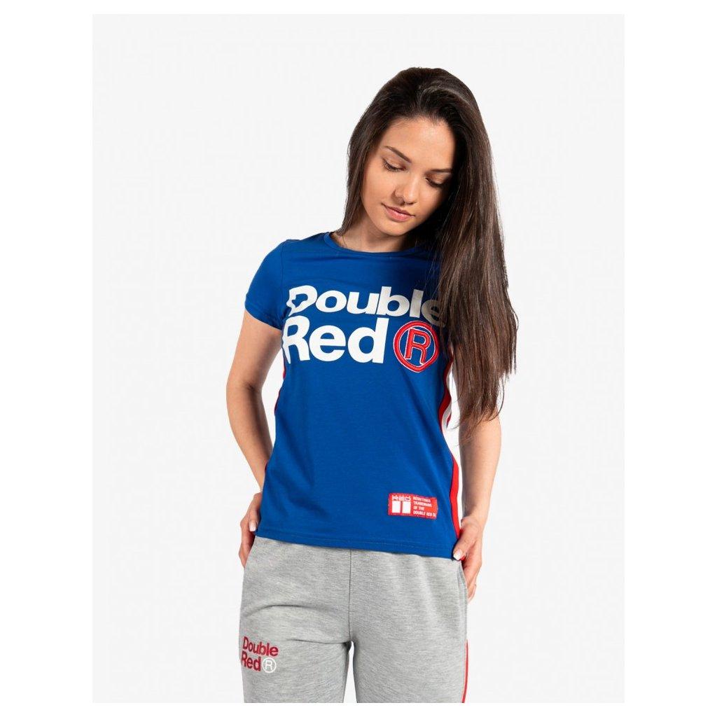 Tričko  DOUBLE RED  T-Shirt FABULOUS Blue