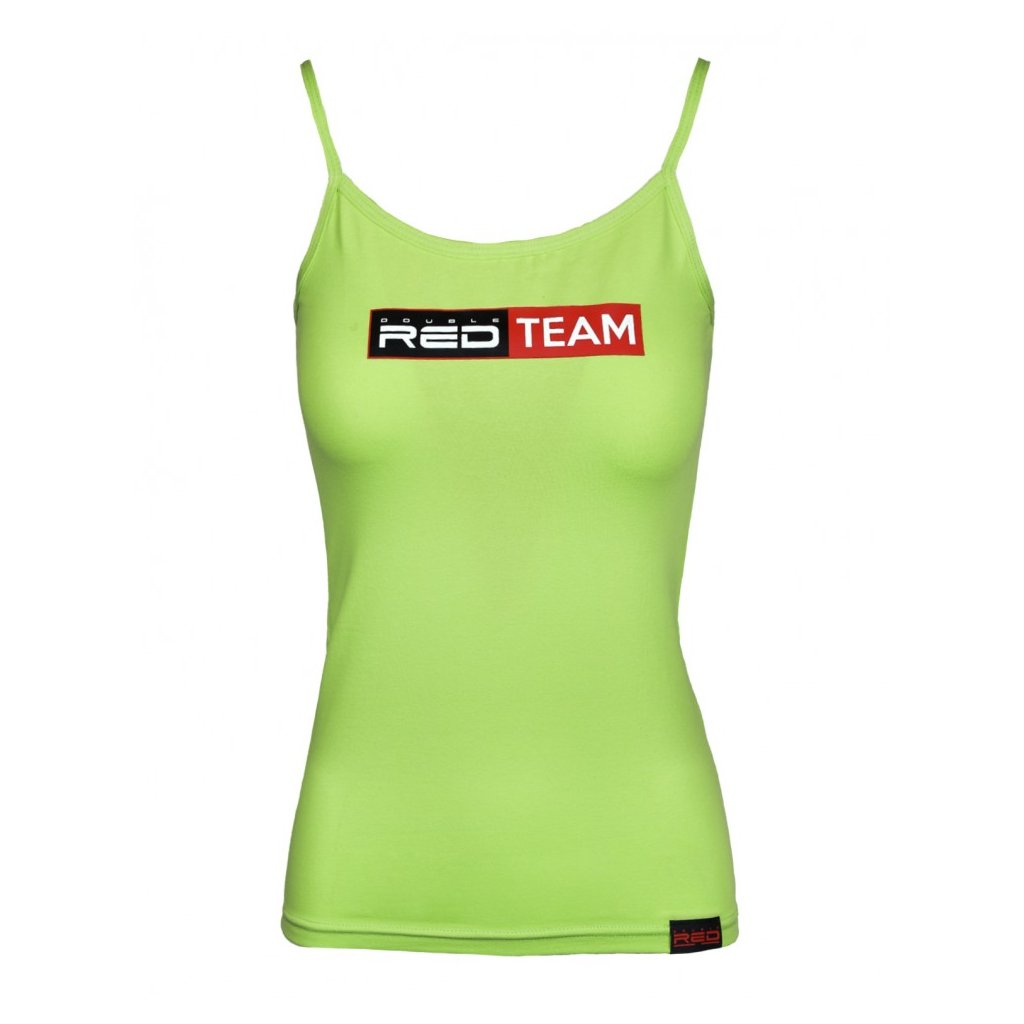 DOUBLE RED  RED TEAM Tank Top Green