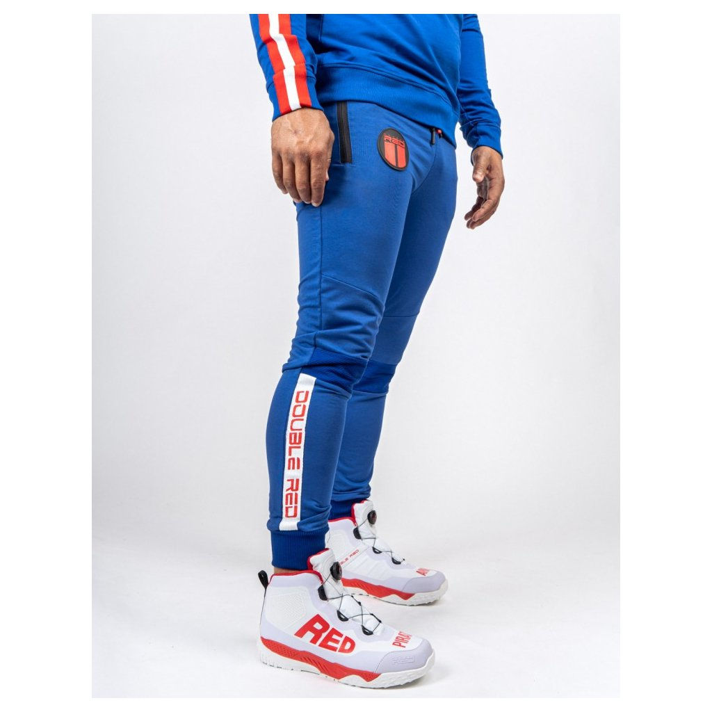Tepláky DOUBLE RED  Sweatpants Sport Is Your Gang Blue