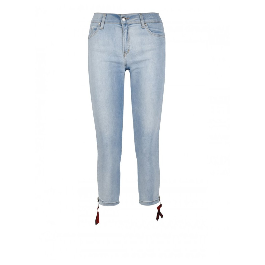 DOUBLE RED  RED Zipper Jeans Collection