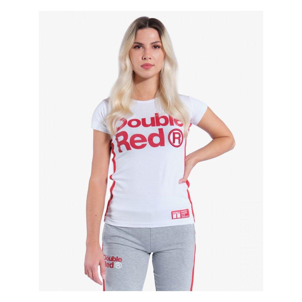 Tričko  DOUBLE RED  T-Shirt TRADEMARK White