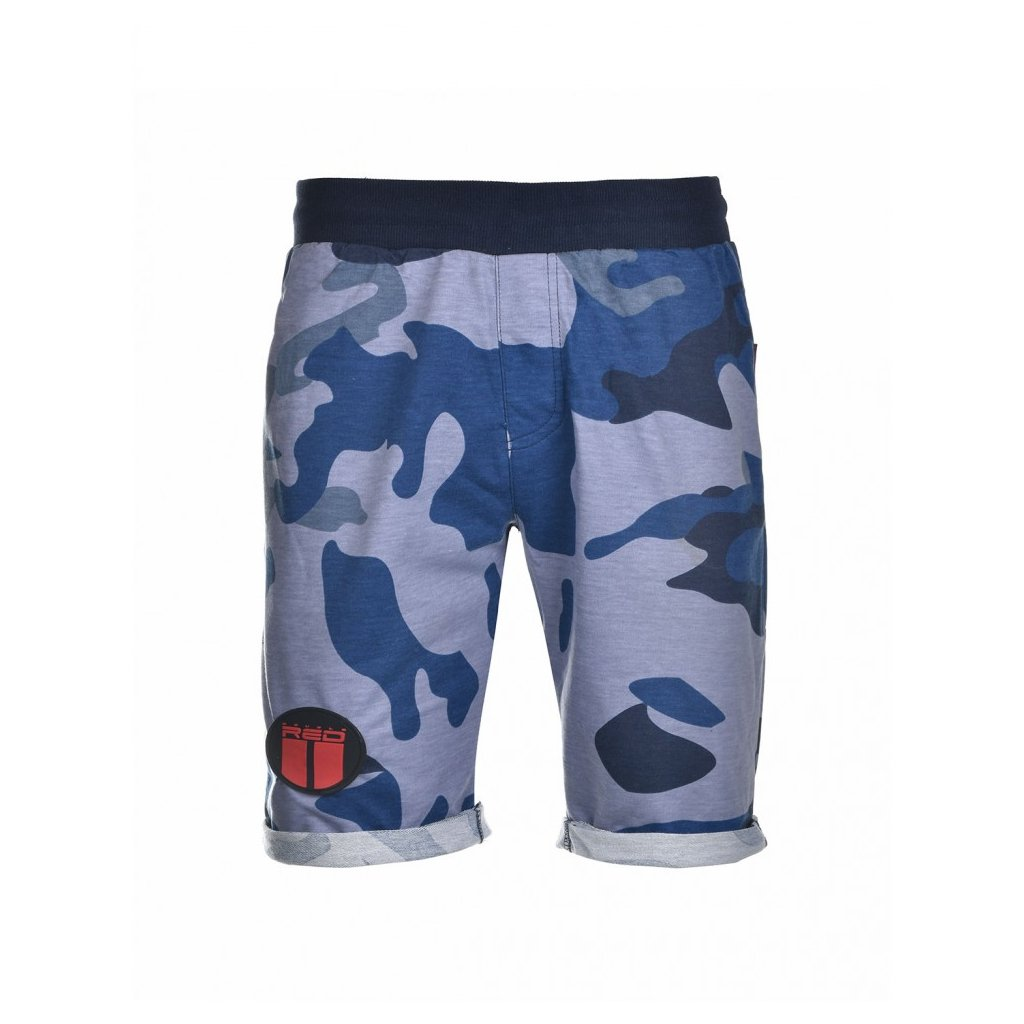 DOUBLE RED  SOLDIER Shorts Blue Camo
