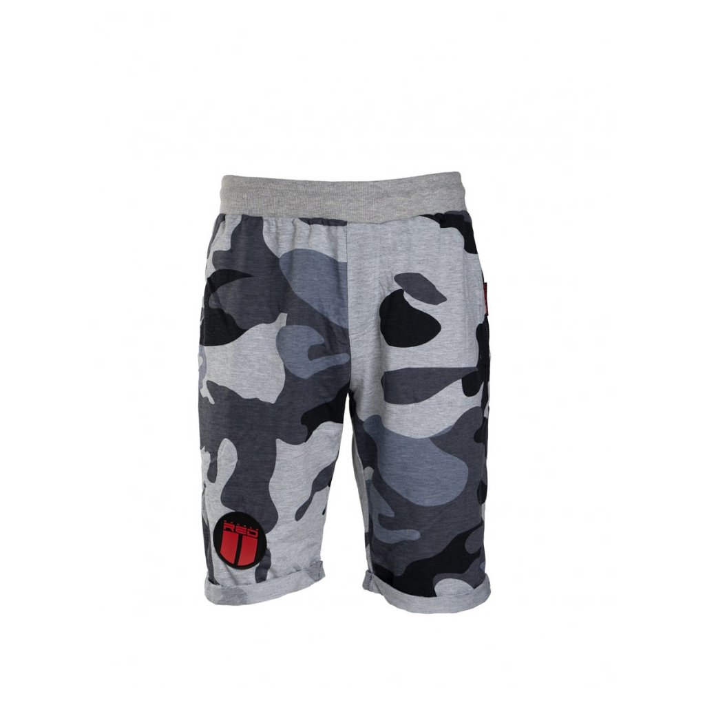 DOUBLE RED  Short Soldier Grey Forever