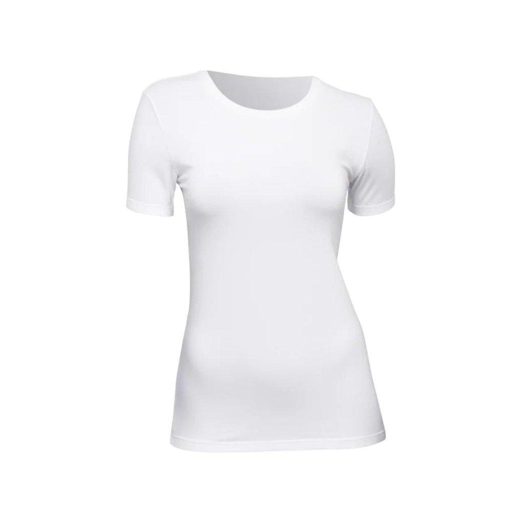 Dámské tričko Tufte U-neck White