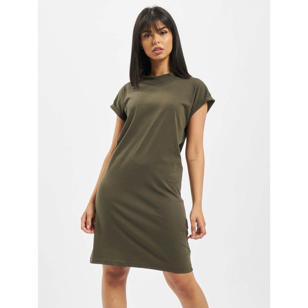 DEF / Dress Oliana in olive