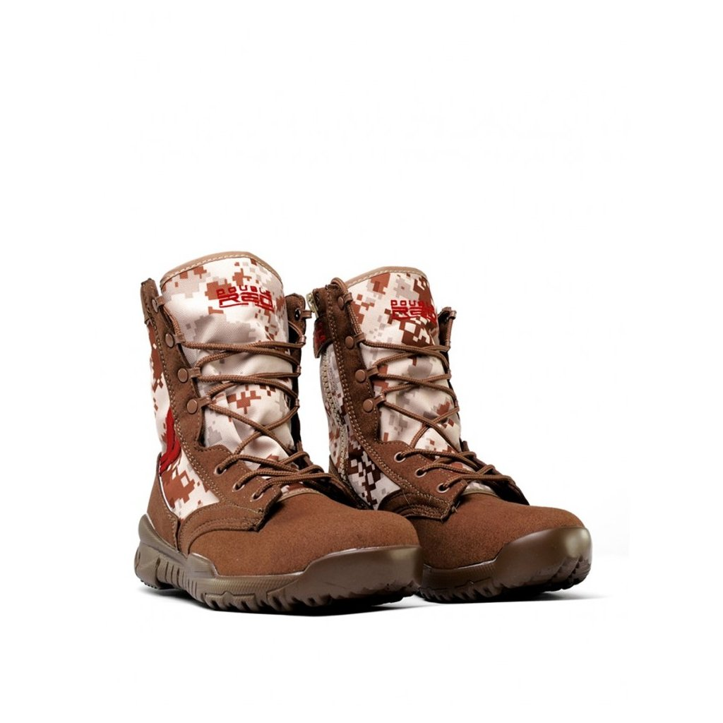 DOUBLE RED  Boots Digital Brown Red Desert