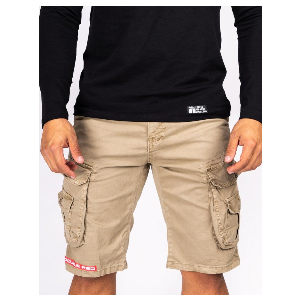 DOUBLE RED  Tactical Short Beige