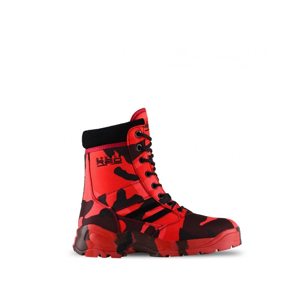 DOUBLE RED  Boots Red Hell