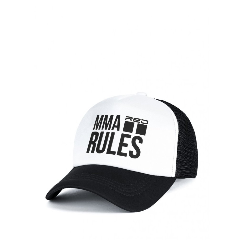 Šiltovka  DOUBLE RED  MMA RULES Black Cap