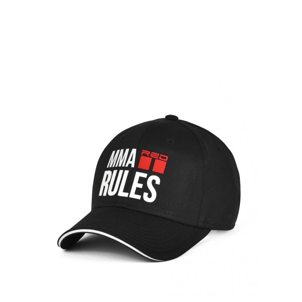 Šiltovka  DOUBLE RED  MMA RULES B&W™ Cap