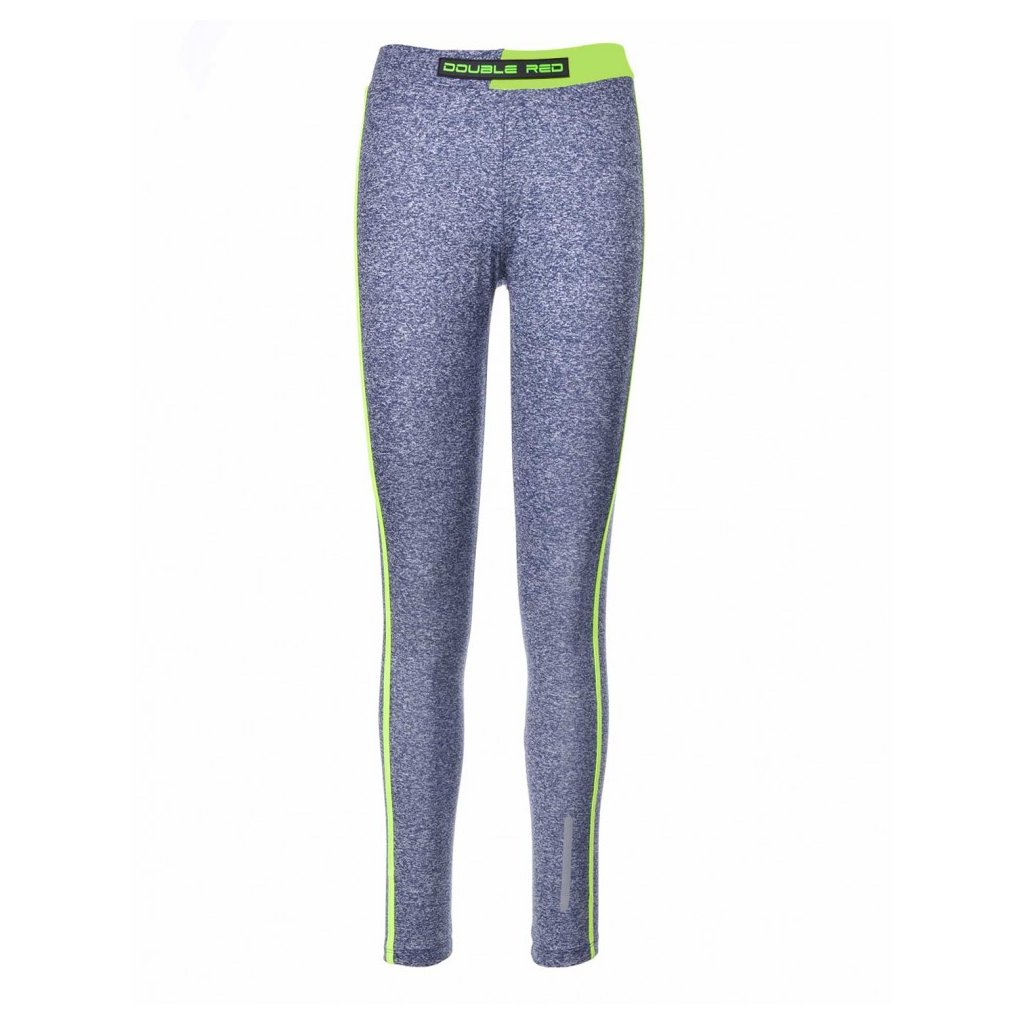 Legíny  DOUBLE RED  Leggins SPORT IS YOUR GANG™ Function Sport Blue/Turquoise