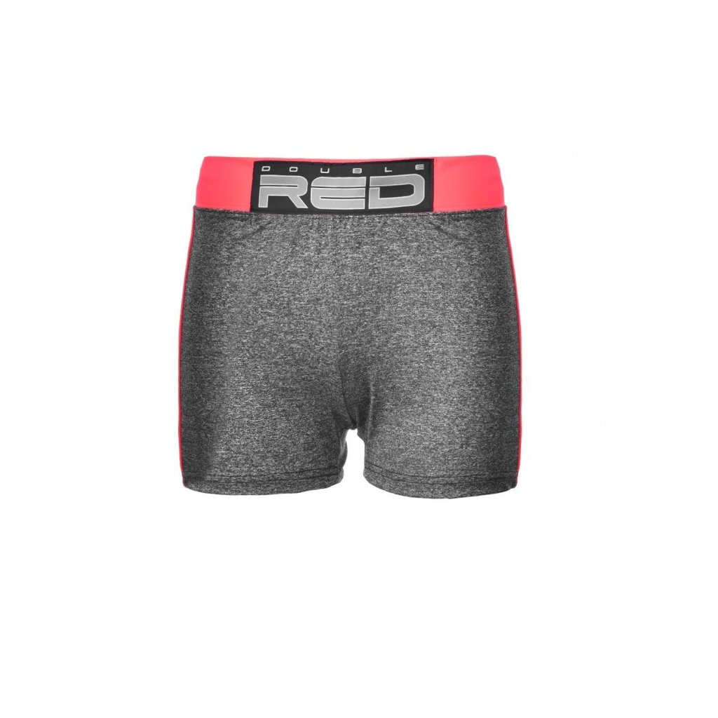 DOUBLE RED  Shorts SPORT IS YOUR GANG™ Function Sport Grey/Neon Pink