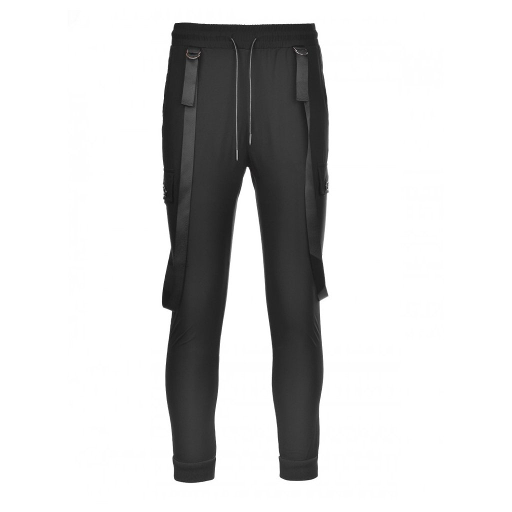 DOUBLE RED  Pants AVIATOR Black
