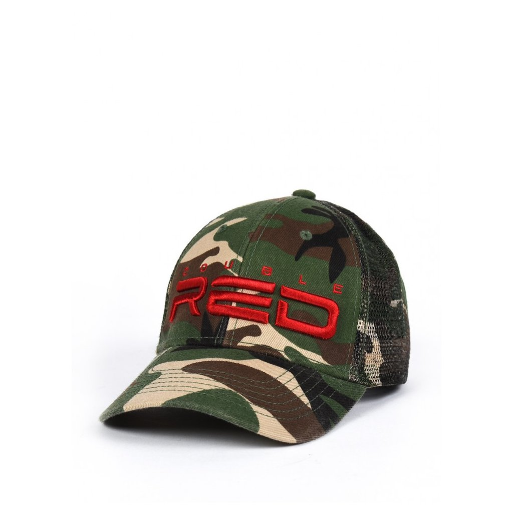 Šiltovka  DOUBLE RED Soldier 3D Embroidery Logo Cap CAMODRESSCODE Green