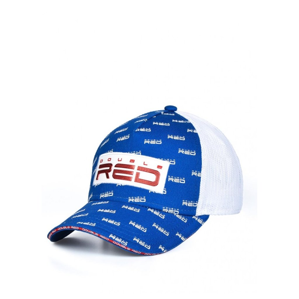 Šiltovka  DOUBLE RED  EXQUISIT Full Logo Blue Cap