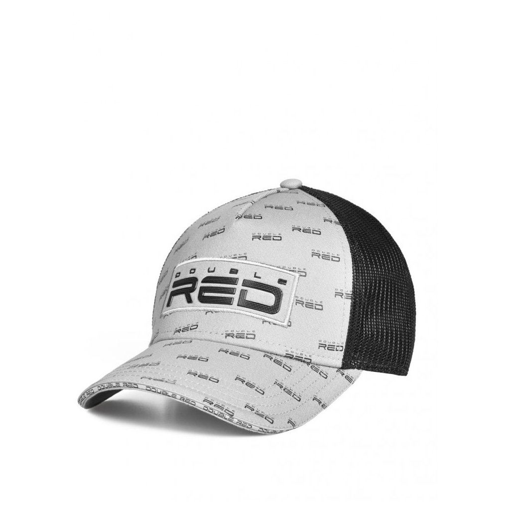 Šiltovka  DOUBLE RED  EXQUISIT Full Logo Grey Cap