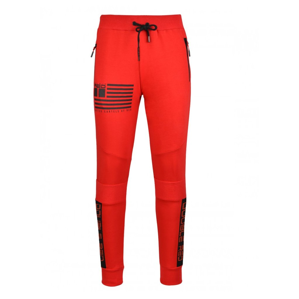 Tepláky  DOUBLE RED  Sweatpants United Cartels Of Red UCR Red