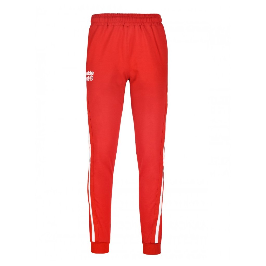 Tepláky  DOUBLE RED  Sweatpants FABULOUS Red