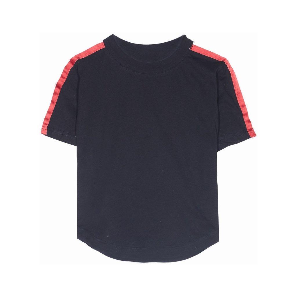 Dámske čierne crop top tričko Sixth June