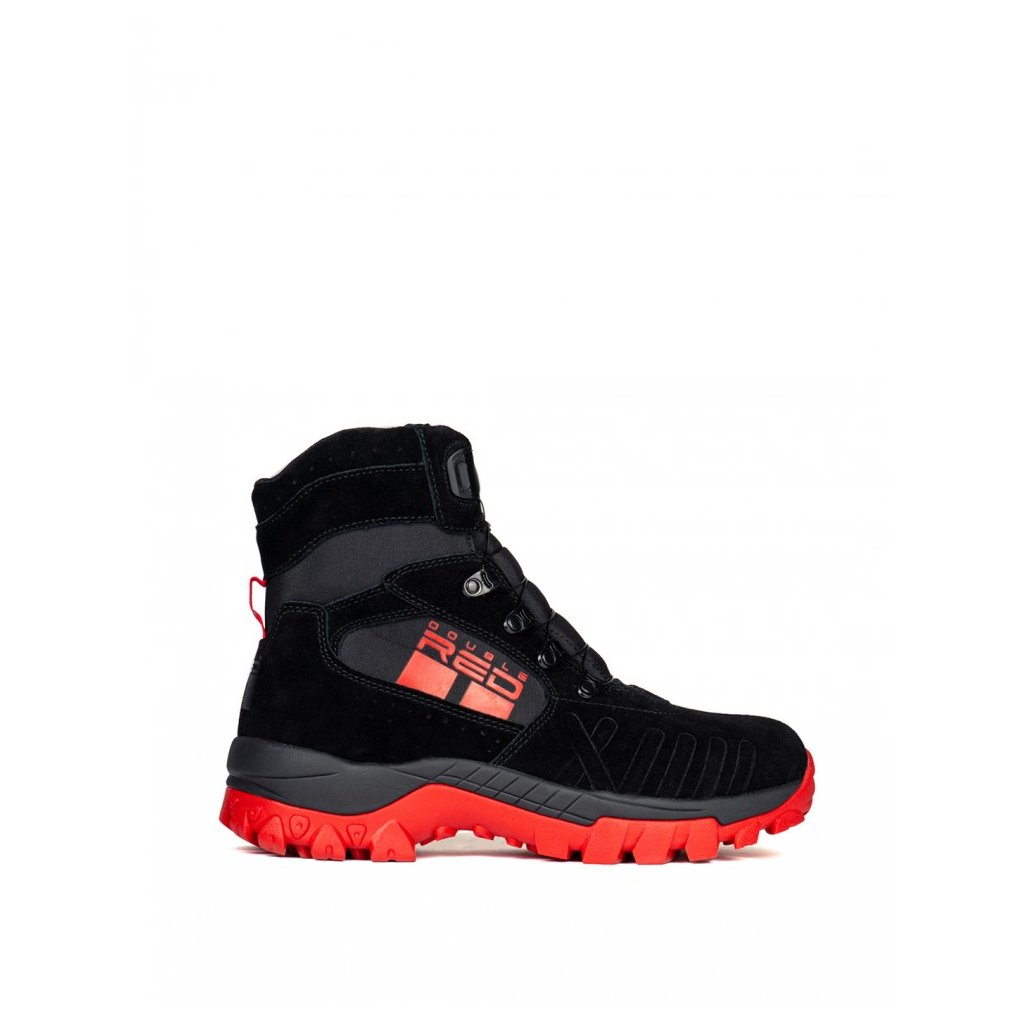 DOUBLE RED  X WIRE BLACK&RED Boots