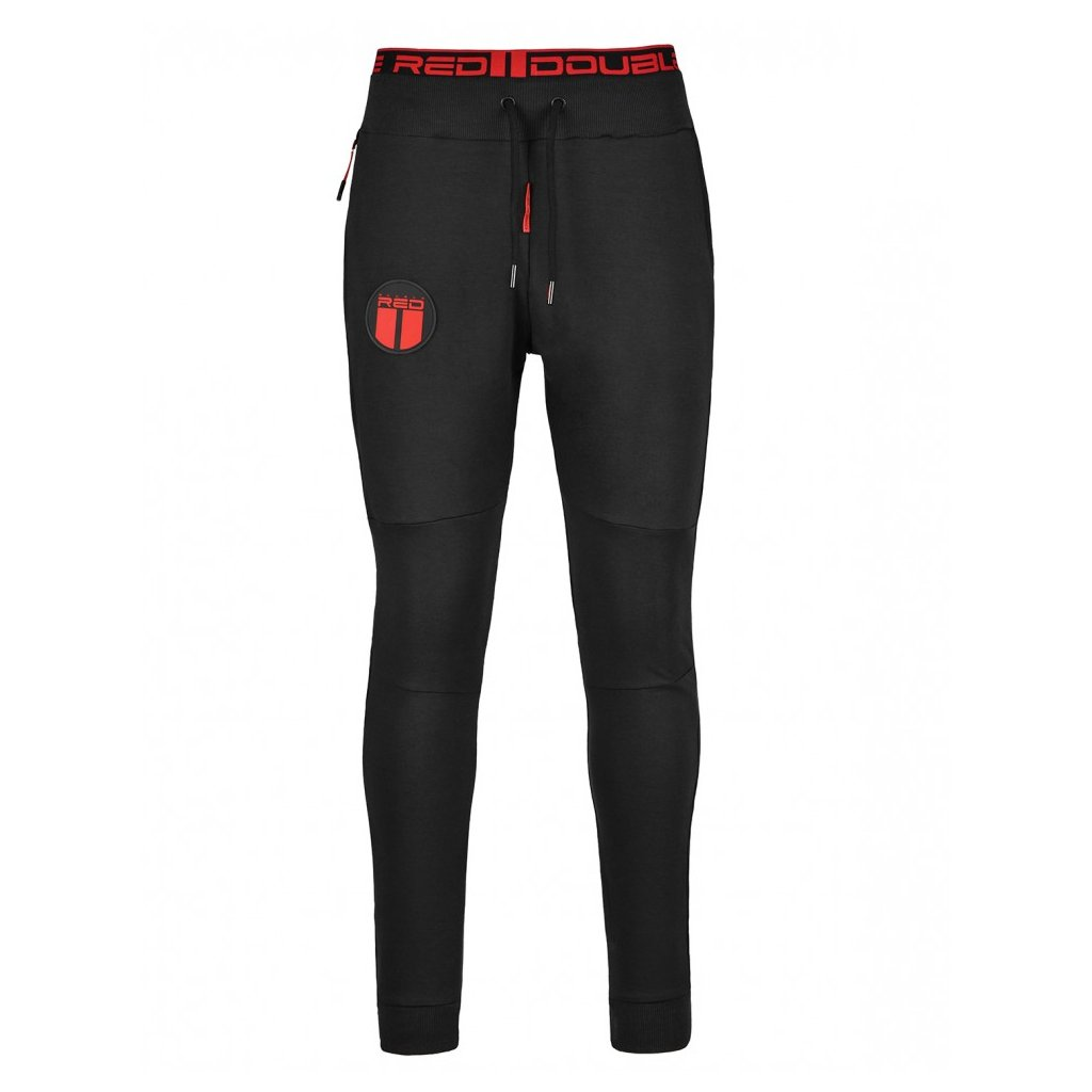 Tepláky  DOUBLE RED  Sweatpants Sport Is Your Gang Black
