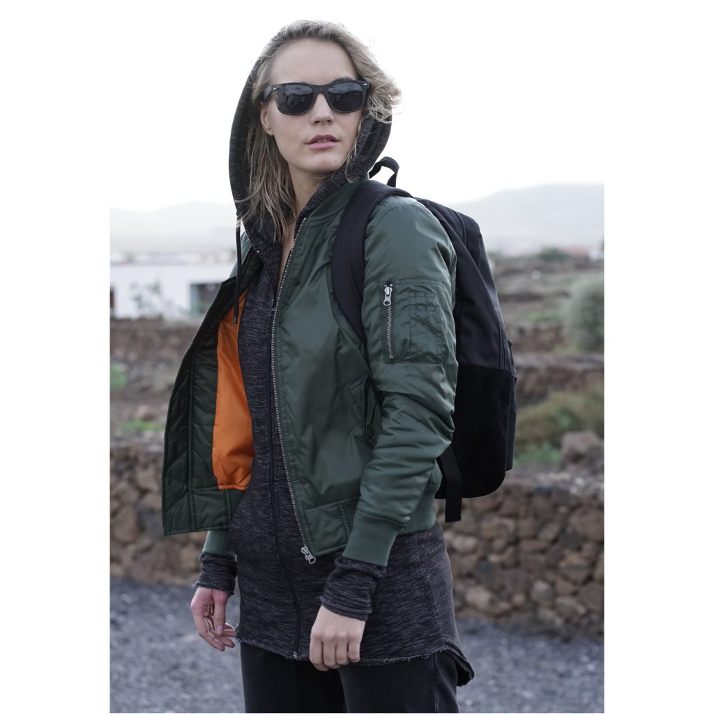 Dámska bombera Ladies Basic Bomber Jacket olive