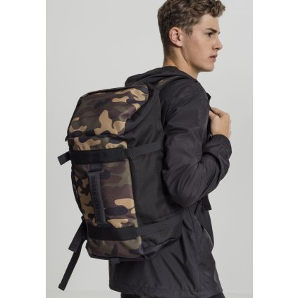 Traveller Backpack black/camo one size