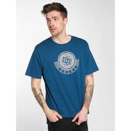 Pánske tričko Dangerous DNGRS / T-Shirt Signed in blue