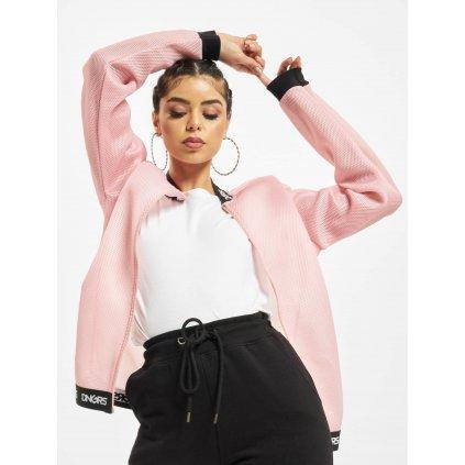 Dámska basebalová bunda Dangerous DNGRS / College Jacket Vista in rose
