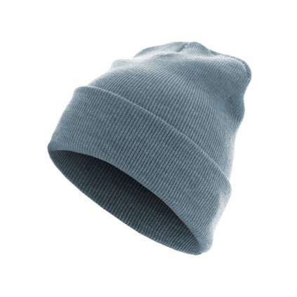 Čiapka Beanie Basic Flap Long Version h.indigo one size