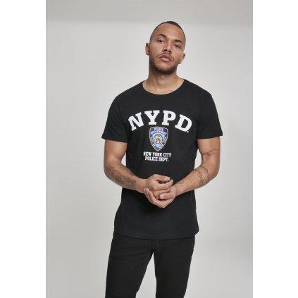 Pánske tričko NYPD Logo Tee black