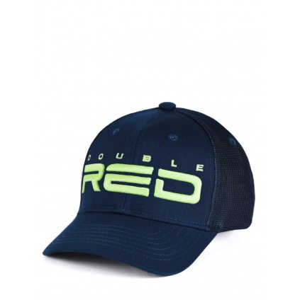 Šiltovka  DOUBLE RED  Phosphorus All Logo Dark Blue Cap