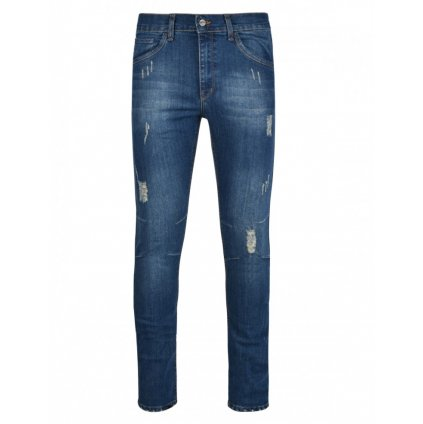 DOUBLE RED  RED JEANS Rip Blue Skinny Fit