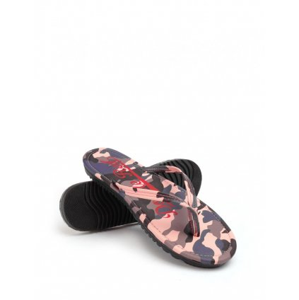 DOUBLE RED  Slippers Camo Salmon