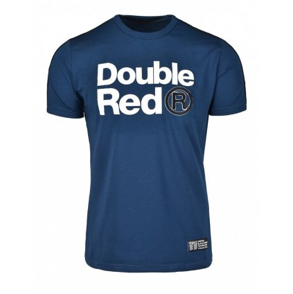 Pánske tričko DOUBLE RED T-Shirt TRADEMARK B&W Edition Dark Blue