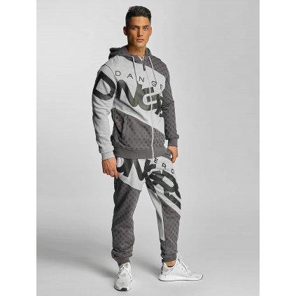 Pánska tepláková súprava Dangerous DNGRS / Suits Toco in grey