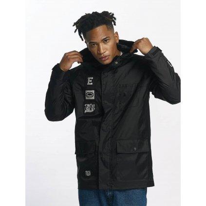 Pánska bunda Ecko Unltd. / Lightweight Jacket NosyBe in black