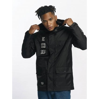 Pánska bunda Ecko Unltd. / Lightweight Jacket NosyBe in black