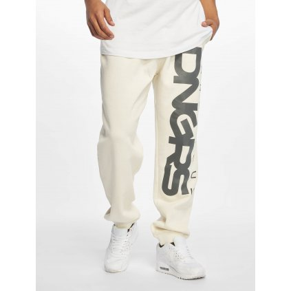 Pánske tepláky Dangerous DNGRS / Sweat Pant Classic in white