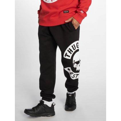 Pánske tepláky Thug Life / Sweat Pant B.Camo in black
