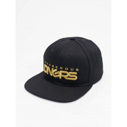 Pánska šiltovka Dangerous DNGRS / Snapback Cap Classic in black