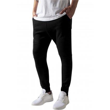 Pánske tepláky Pleat Sweatpants black