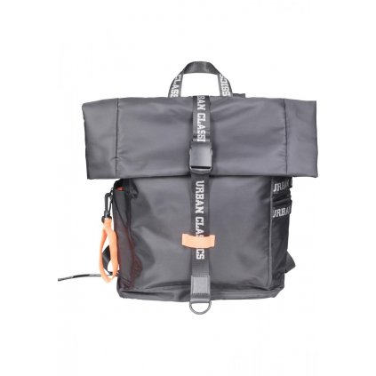 Nylon Backpack blk/neonorange one size