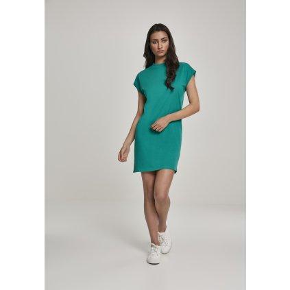 Dámske šaty Ladies Turtle Extended Shoulder Dress fresh green