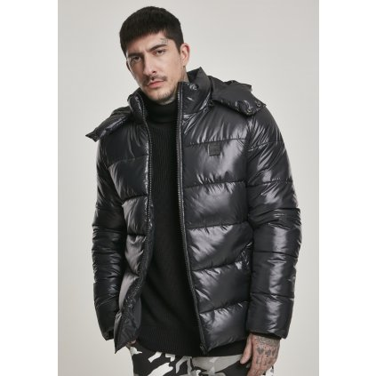 Pánska zimná bunda Hooded Vanish Puffer Jacket black