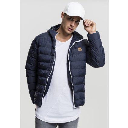 Pánska zimná bunda Basic Bubble Jacket nvy/wht/nvy