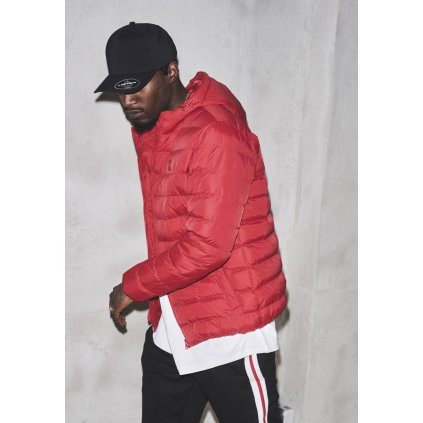 Pánska zimná bunda Basic Bubble Jacket fire red