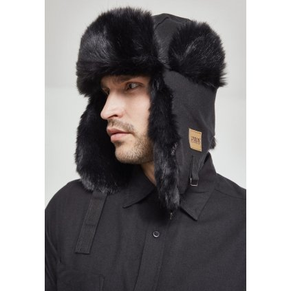 New Trapper Hat black